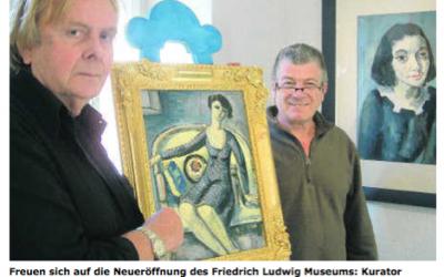 Ludwig-Museum in neuer Frische